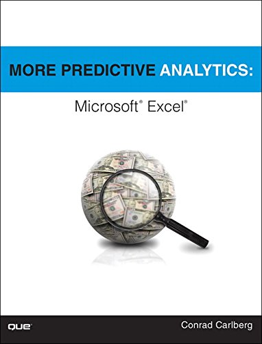 More Predictive Analytics:Microsoft Excel