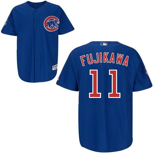Kyuji Fujikawa Chicago Cubs Alternate Royal Authentic Jersey by Majestic Select Jersey Size: 48 - X-Large at Amazon.com