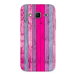 Stylish Pink Wall Multicolor Back Case Cover for Galaxy Core Prime
