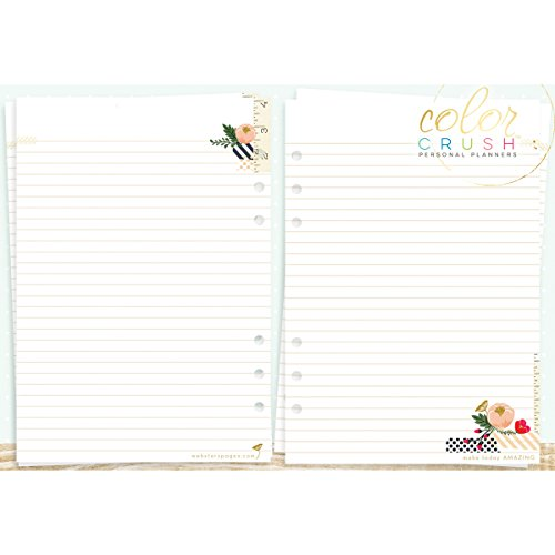 Color Crush A5 Personal Planner Inserts-Write It Down (Personal Organizer A5 compare prices)