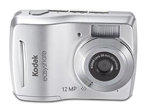 Kodak Easyshare C1505 12 MP Digital Camera with 5x Digital Zoom - Silver by Kodak