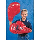 Single Pair Giant Jumbo Inflatable Boxing Gloves Toy