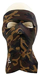 Exo Pro S244 Sure Shot Full Face and Neck Mask, Camo at Sears.com