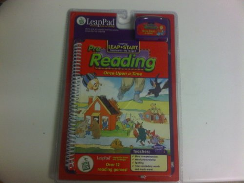 Leapfrog Leap Start Pre Reading Once Upon a Time (Preschool-k up to Age 5) Book and Cartridge - 1
