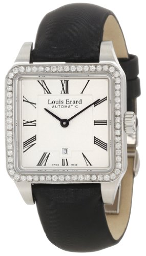 Louis Erard Women's 20701SE01.BDS62 Emotion Automatic Black Date Watch