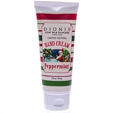 Dionis® Peppermint Hand Cream 2oz
