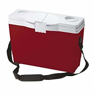 Rubbermaid 14 Can Briefcase Cooler, Red