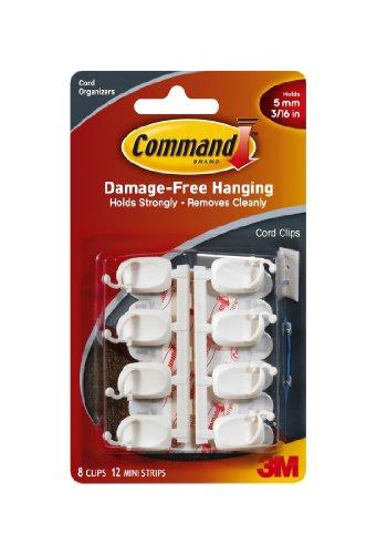 Command Small Cord Clips 8-ClipB0000AQOHE