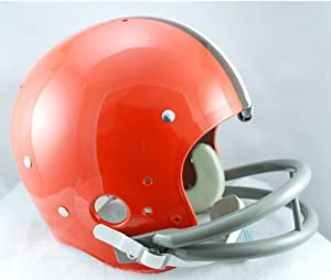 CLEVELAND BROWNS 1962-1974 NFL Riddell AUTHENTIC TK Suspension Football Helmet by ON-FIELD