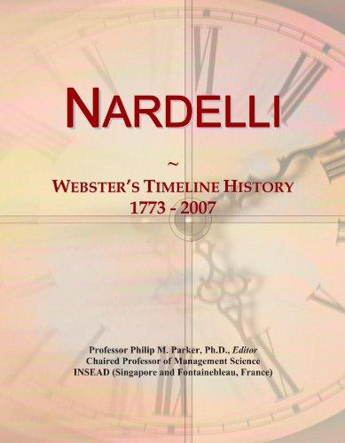 Nardelli: Webster's Timeline History, 1773 - 2007