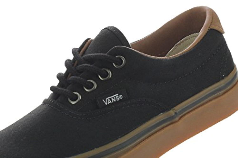 8a2b1d10f9 Vans Era 59 VN-0SD5F7S (C L) Black   Classic Gum 3.5 M US Big Kid ...