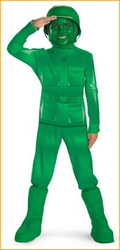Toy Story Costumes Army Man Costume for Kids