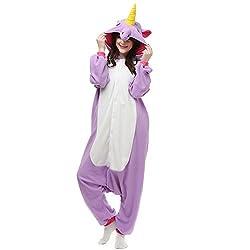 VU ROUL Unisex-adult Kigurumi Onesie Animal Pajamas