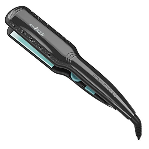 Remington S7330 Wet 2 Straight Hair Straightener, 1 3/4 Inch, Black Hair Straighter (Steam Hair Straightener compare prices)