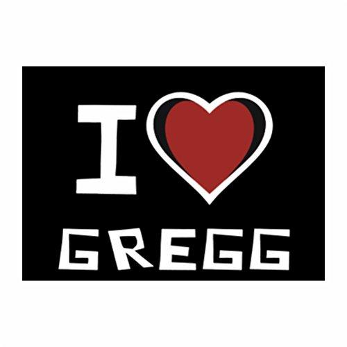 teeburon-i-love-gregg-sticker-pacchetto-di-4
