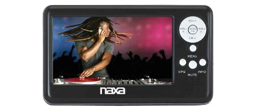 Naxa NT-401 4.3-Inch Digital LCD Television with FM Radio and SD/MMC Card Slot