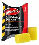 3M 90581-00000 Traditional Disposable E-A-R Plugs, Dispenser Box (200 Pack)