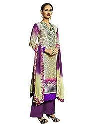 Admyrin Women Multi Colour Cotton Dress Material