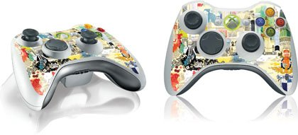 Illustration Art - The World Is Just Around The Corner - Microsoft Xbox 360 Wireless Controller - Skinit Skin