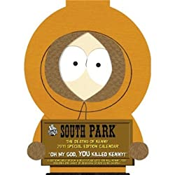 South Park: The Deaths of Kenny 2011 Calendar