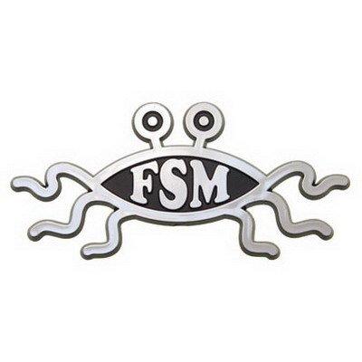 Flying Spaghetti Monster, Logo per auto