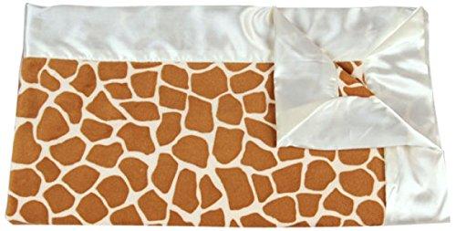 "My Blankee Giraffe Minky Baby Blanket, 14"" X 17"", Rust"