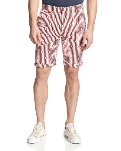 Levi's Made & Crafted Men's Striped Drill Shorts