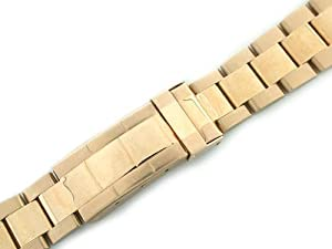 Mens 18ky Oyster Watch Band for Rolex Submariner