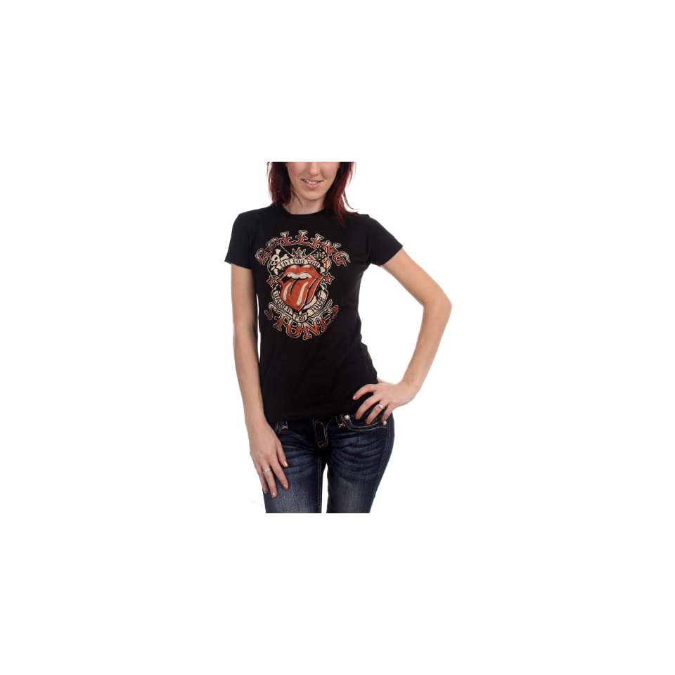 The Rolling Stones Tattoo You Tour 81 Girls T Shirt Size  Small