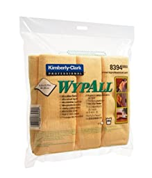 WYPALL MICROFIBRE CLOTHS YELLOW 8394 PK6