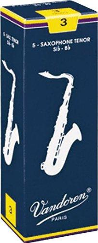 Vandoren Tenor Saxophone Reeds #3.5, Box of 5