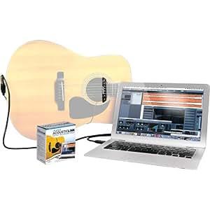 Alesis ACOUSTIC LINK USB-Recordingkabel mit Tonabnehmer für Akustik Gitarren