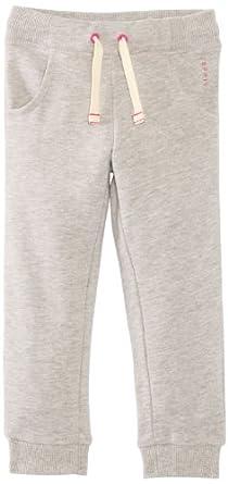 Esprit - pantalon de sport - fille - gris (gris chiné) - 104/110