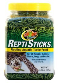 Zoo Med Turtle Food Floating Reptisticks 255g from Peregrine