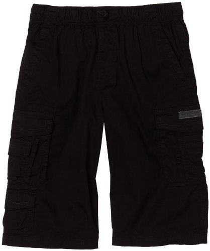 Unionbay Boys 8-20 Daley Cargo Messenger, Black, Medium