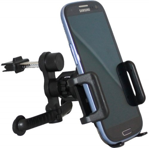 Xenda Universal Car Mount Vehicle Ac Air Vent Cell Phone Holder For Htc One (All Carriers Including At&T, Sprint, T-Mobile And Unlocked) front-985201