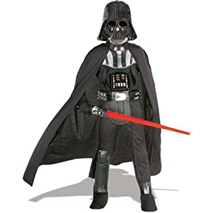 Amazon.com: Star Wars Darth Vader Boxed Costume Kit - Child Large 12