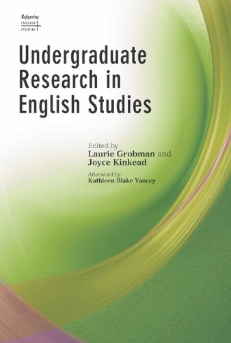 Undergraduate Research in English Studies (Refiguring English Studies)