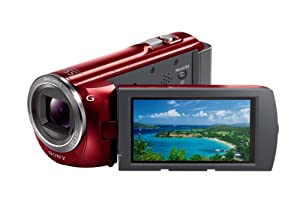 Sony HDR-PJ380/R High Definition Handycam Camcorder with 3.0-Inch LCD (Red)