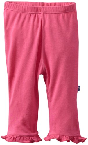 Kickee Pants Baby-Girls Infant Solid Ruffle Pant, Candy, Preemie front-610471