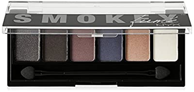 NYX Cosmetics The Smokey Fume Shadow Palette, 0.21 Ounce