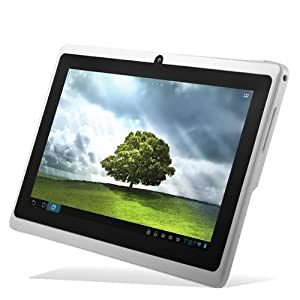 "Chromo Inc® White 4gb 7"" Android 4.0 Touch Capacitive Screen 1.2GHz 512 Ram Tablet Pc Wifi 3g Camera Tr-a13"