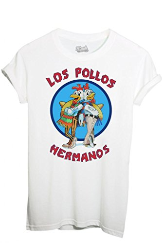 T-SHIRT LOS POLLOS HERMANOS-FILM by MUSH Dress Your Style - Uomo-L-BIANCA