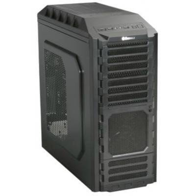 Enermax Eca3220 Black Hoplite Atx Mid Tower 4/2/(4) Bays Usb Audio Esata Computer Case back-120227