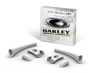 Oakley Flak Jacket Earsock/Nosepiece Kit (White)