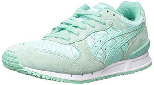 ASICS Women's GEL-Classic Retro Running Shoe, Mint/Mint, 9 M US