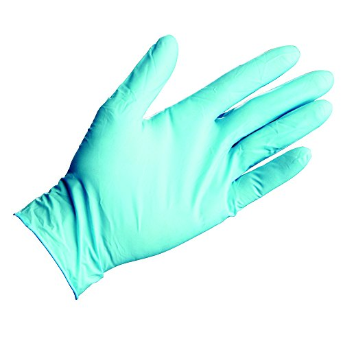 Kleenguard G10 Blue Nitrile Gloves (41078), Large, Powder-Free, 6 Mil, Ambidextrous, Thin Mil, 20 Gloves / Convenience Bag