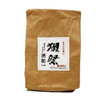 獺祭 純米大吟醸 50% 新酒粕(バラ粕) 1kg詰