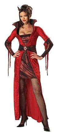 Incharacter Costumes Adult Seductive Devil Costume