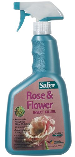 Safer Brand 5131 Rose & Flower Insect Killing Soap Ready-to-Use 24-Ounces